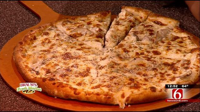 Red Potato Rosemary Pizza