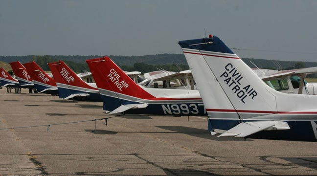 Volunteers, Civil Air Patrol Searching For Hanna Man
