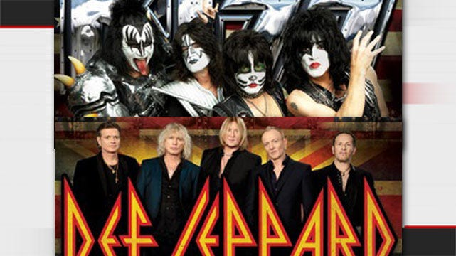 KISS, Def Leppard Pair Up For Summer Tour With Stop In Tulsa