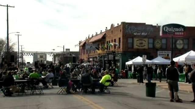 A Monday St. Patrick's Day Didn't Stop The Tulsa Celebration