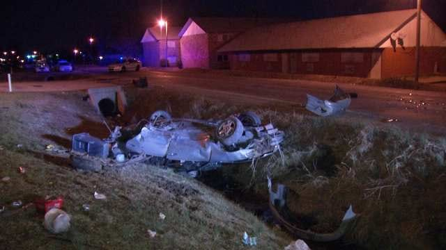 Police: St. Patrick's Day Ends With At Least Four Tulsa Crashes