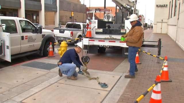 PSO Replacing Breakers Under Tulsa City Streets
