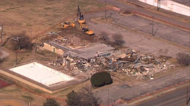 City Of Tulsa Tears Down Rec Center