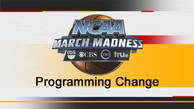 Programming Note: NCAA Basketball To Change Regular Programming Thursday - Sunday