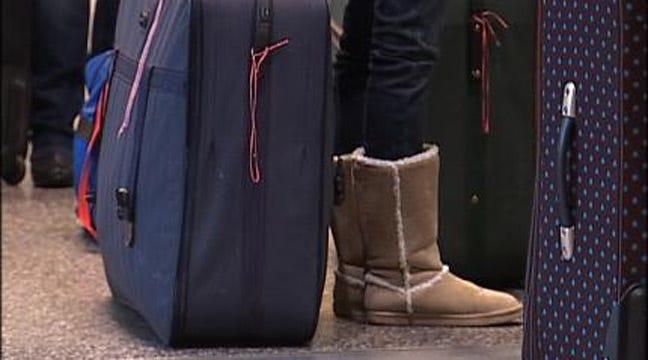 Winter Weather Delays Flights At Tulsa International