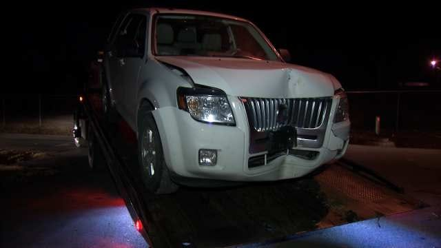 Tulsa Police Seek Driver After Finding Wrecked SUV
