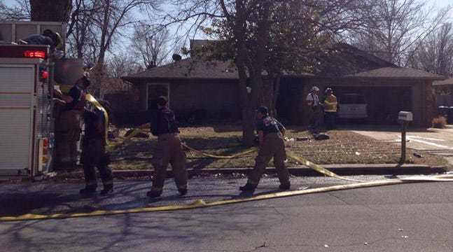 Woman Dead, Man Injured In Tulsa House Fire