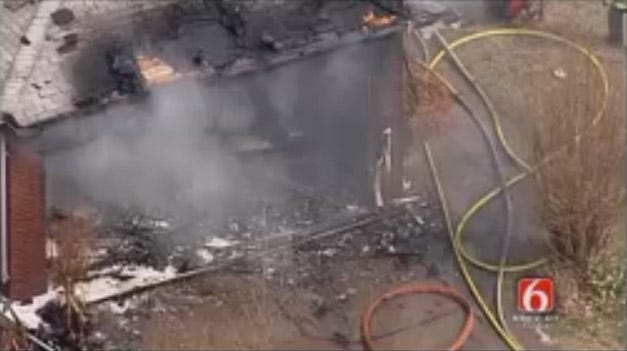 Firefighter Hurt In Tulsa House Fire