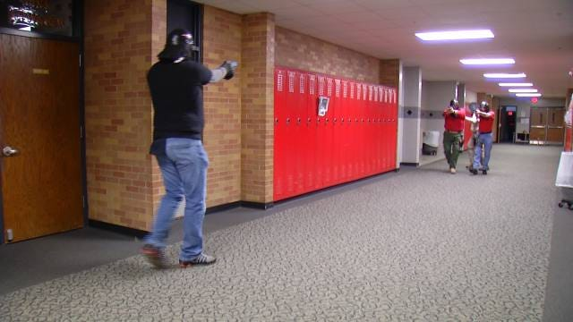 School Shooter Training Brings Back Memories For Fort Gibson Officer
