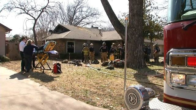 Survivor Recovering After Fatal South Tulsa House Fire