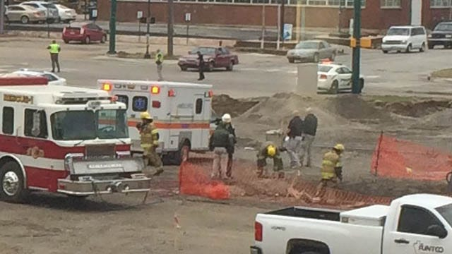 Worker Pinned Under Concrete, Rescued At Rogers County Courthouse