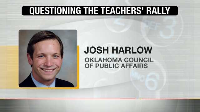 Group Believes Oklahoma Teachers' Rally A Waste Of Time, Money