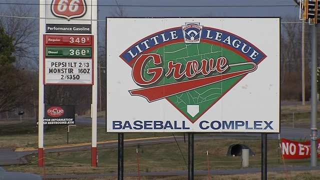 Money, Not Bases, Stolen From Grove Youth Sports Program