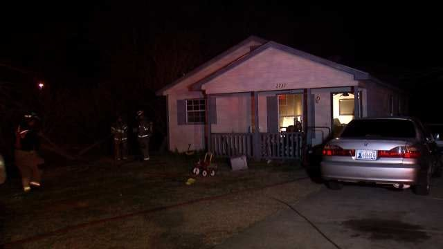 No One Injured In North Tulsa House Fire