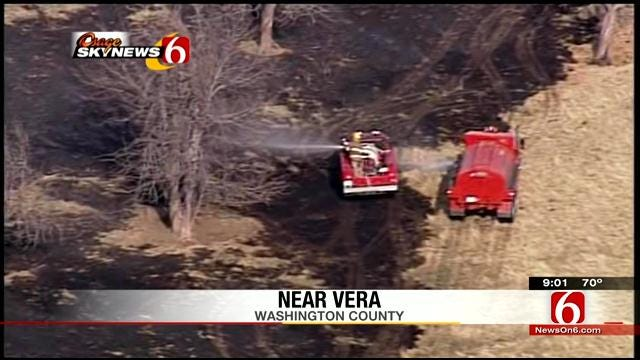 Officials Believe Serial Arsonist Responsible For Vera Fires