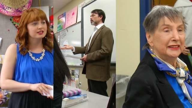 Three OK Teachers Share One Voice To Defend Teachers' Rally