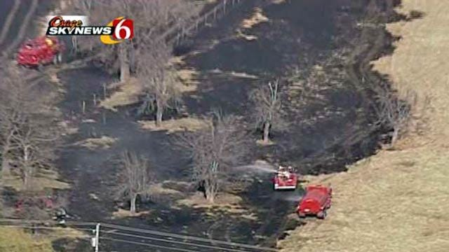 Washington County Firefighters Look For Grass Fire Arsonist