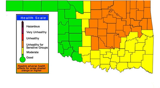 Pawnee County Residents Report Falling Ash, Haze In Air