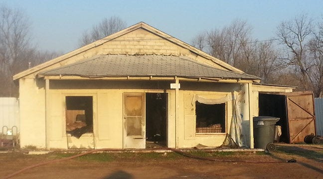 Sperry Firefighters Knock Down House Fire