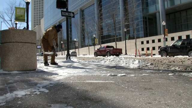 Downtown Tulsa Streets Among Last To Be Plowed