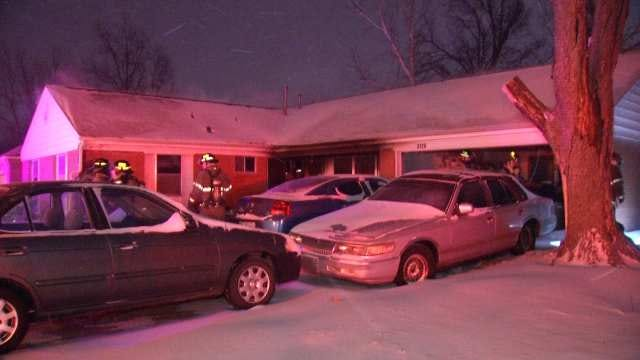 Fire Damages Two Tulsa Homes