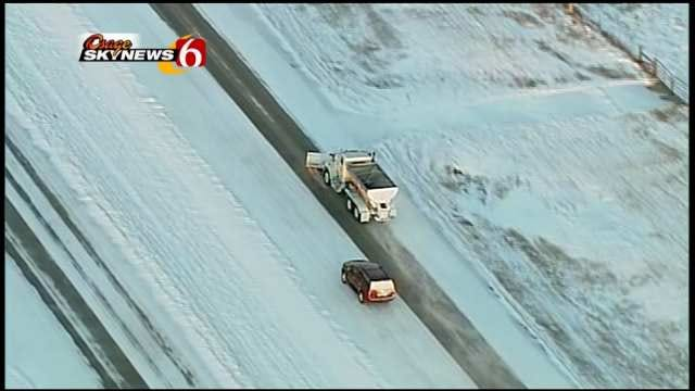 Tulsa Traffic May Be Smoother After Snow, But Officials Urge Caution