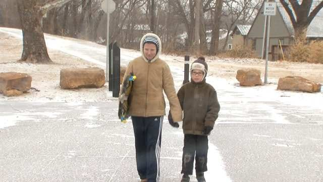 Tulsans Make The Most Of Winter Weather