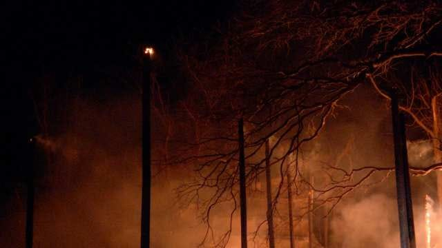 Car Crash Believed To Spark Broken Arrow Barn Fire