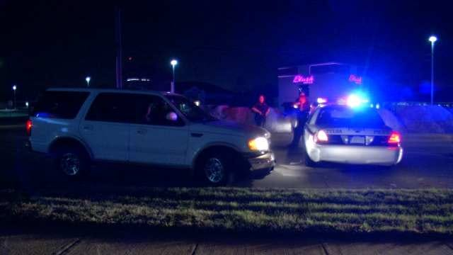 Man Arrested After Running Into Tulsa Police Car