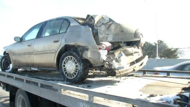 Driver Arrested After Fleeing Highway 169/244 Crash