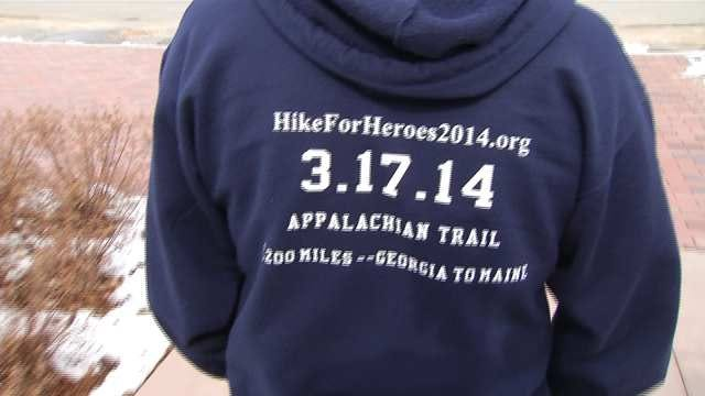 Eufaula Father And Son Hike Appalachian Trail For Heroes