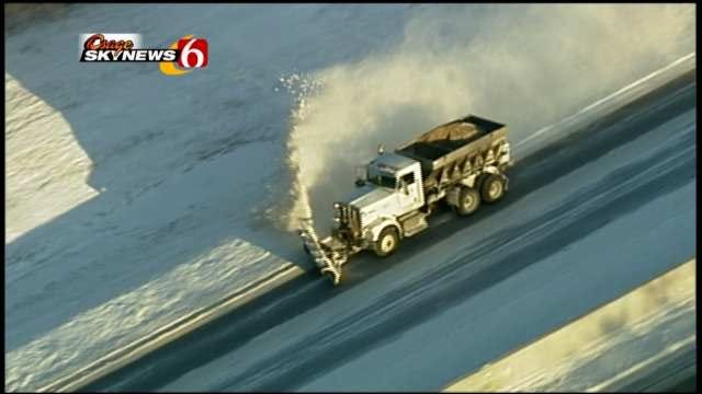 Reports Of Plows Throwing Snow On Oklahoma Cars Increasing
