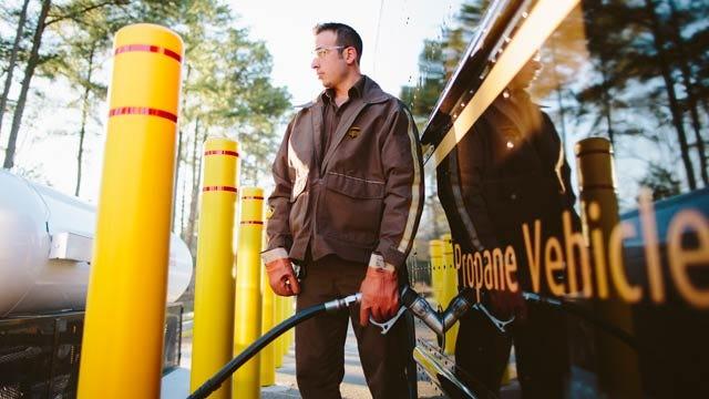 UPS To Launch Propane-Powered Fleet In Oklahoma