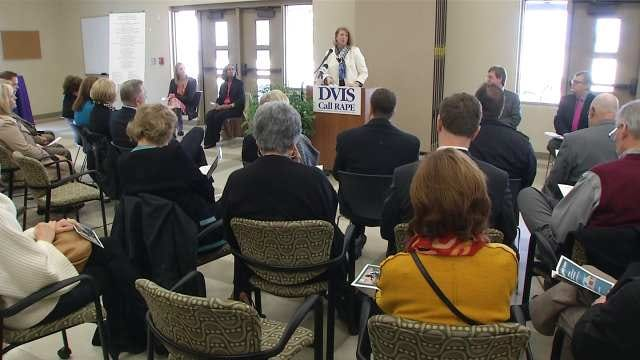 Ground Broken On New Tulsa Center To Help Domestic Abuse Victims