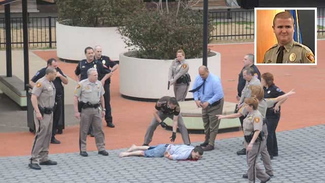 Wounded Deputy Sues Tulsa Courthouse Shooter