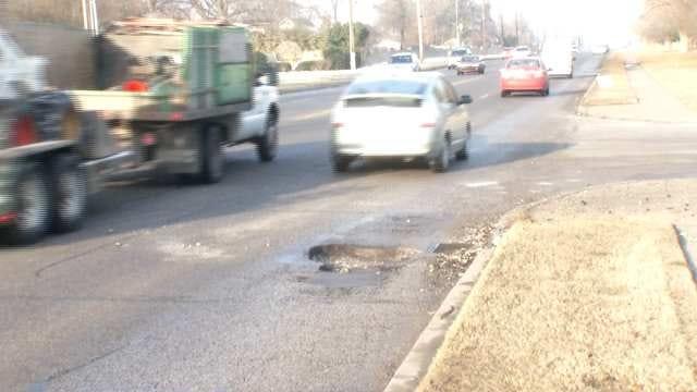 City Repairing 'Pothole Pandemic' In Tulsa