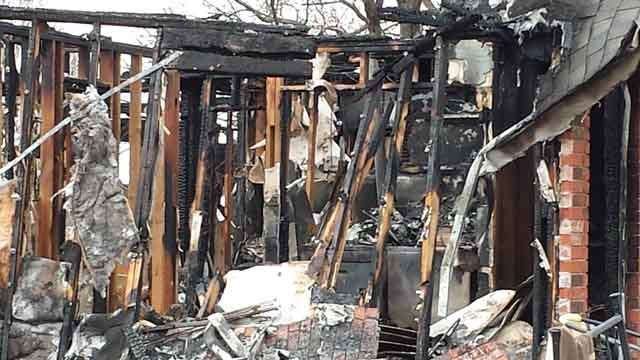 Drumright Tri-Plex Explodes; Fire Hospitalizes Two People With Burns
