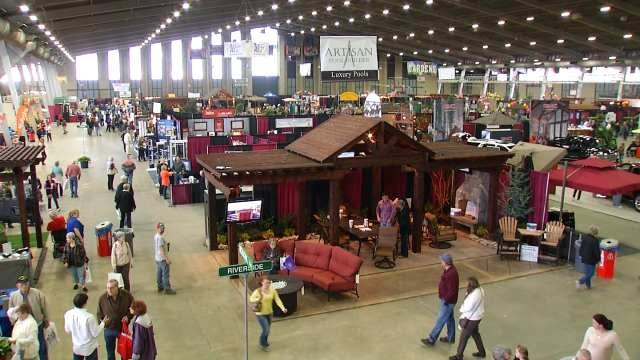 Home And Garden Show Underway At Tulsa's Expo Square