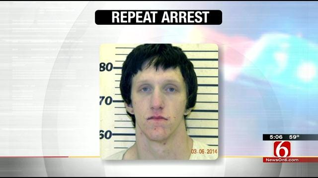 Mayes County Man Facing Same Charges Twice In Six Months