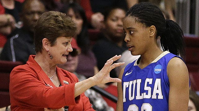 Tulsa's Clark Named All-Conference USA