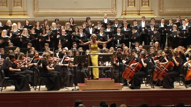 BA Band Plays Concert Of A Lifetime At Carnegie Hall