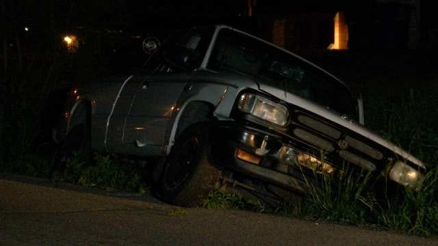 Pickup, Mercedes Wreck In North Tulsa; Drivers Have Wild Fight, Police Say