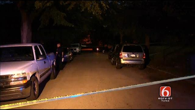 Tulsa Police Say Man Wounded In 'Running Gun Battle'