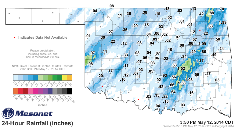 Cooler Flooding Possible for E/SE Counties.