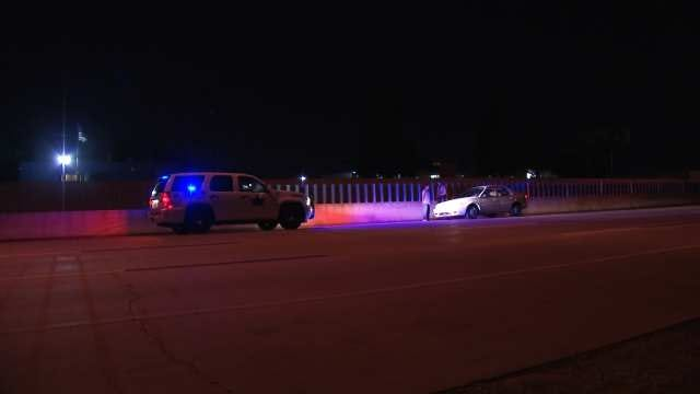 Deputies Arrest Driver Going Wrong Way On I-44 In Tulsa