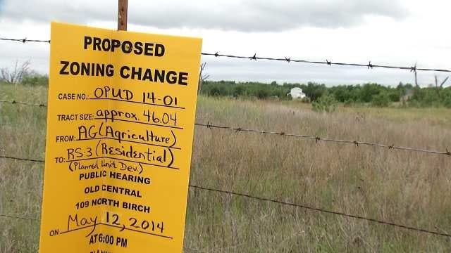 Owasso Residents Concerned New Development Will Increase Flooding
