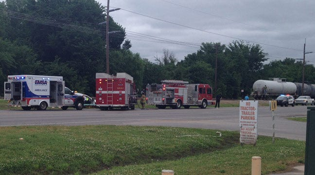 Firefighters Free Woman From Car In Sand Springs Wreck