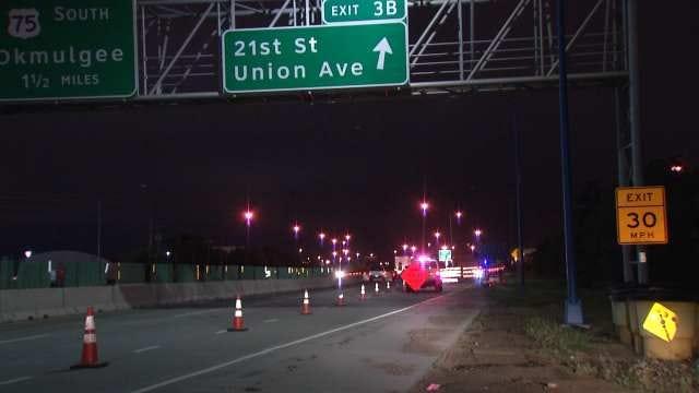 West Tulsa Highway Ramp Re-Opens After Train Derailment