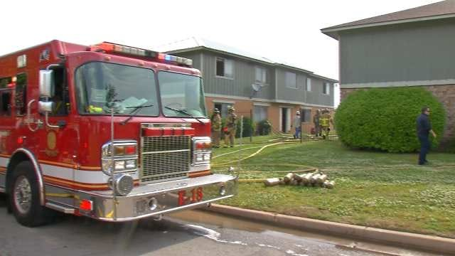 Fire Damages South Tulsa Apartments