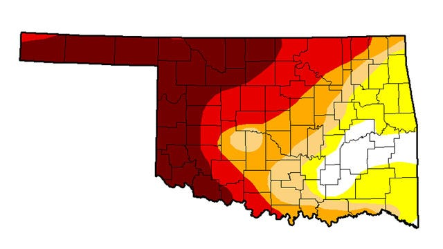 Drought Conditions Cover Most Of NE Oklahoma